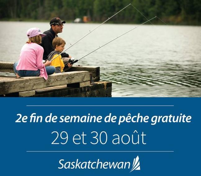 Affiche - 2e Fin de semaine de pêche gratuite