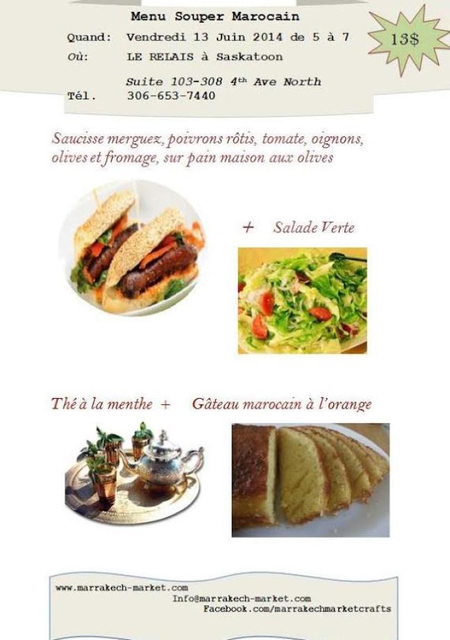 Affiche - 5 à 7 marocain