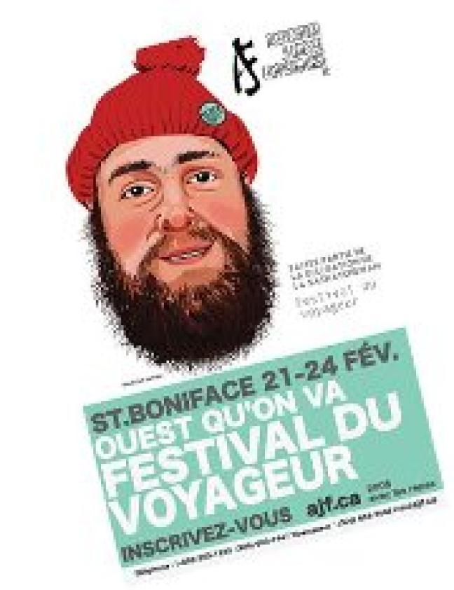 Affiche - AJF - voyage à Winnipeg du 21 – 24 février