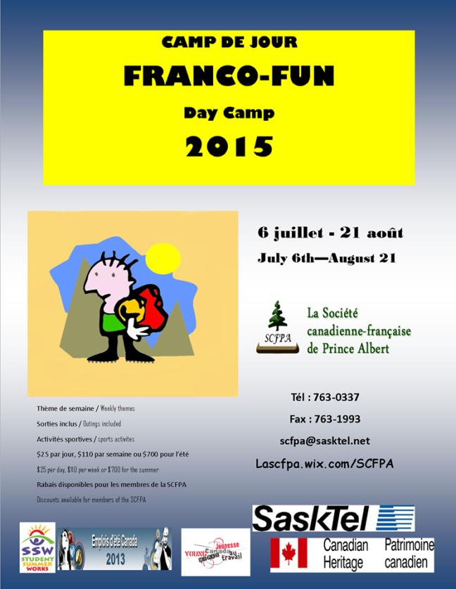 Affiche - Camp FrancoFun 2015
