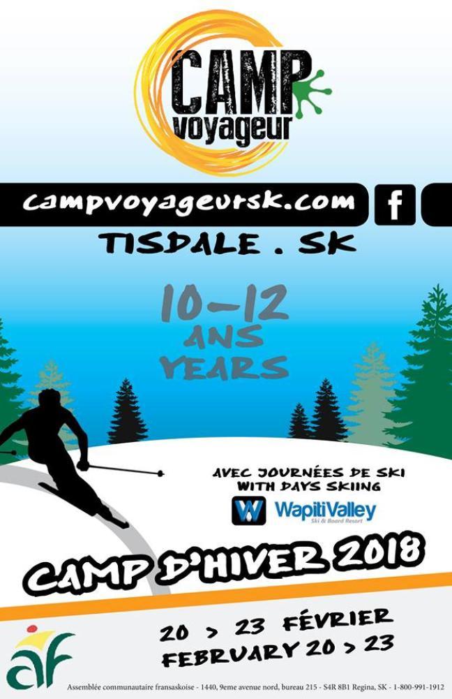 Affiche - Camp voyageur d'hiver
