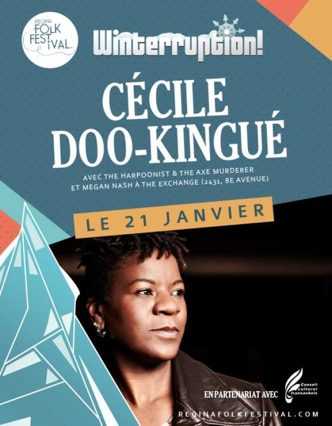 Affiche - Cécile Doo-kingué à The Exchange