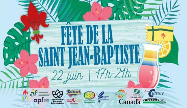 Affiche - Célébration de la St Jean Baptiste