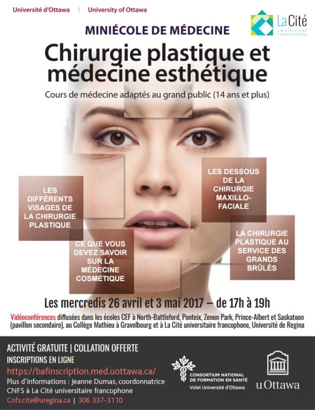 Affiche - Chirurgie plastique et médecine esthétique