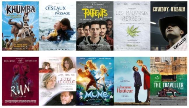 Affiche - Cinergie: Festival du film francophone