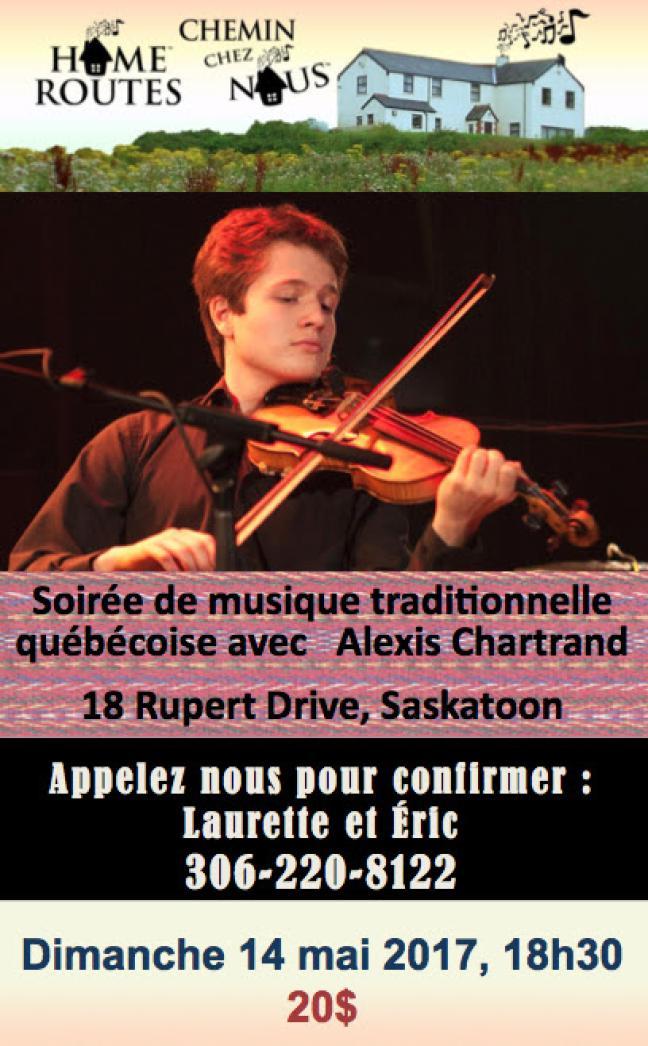 Affiche - Concert Chemin Chez Nous
