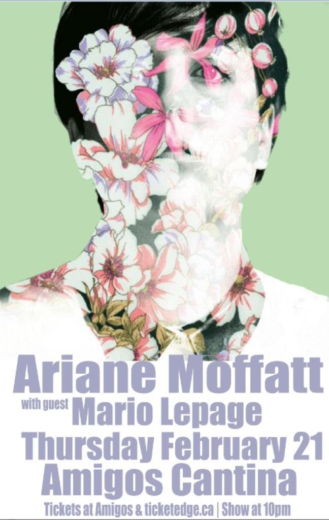 Affiche - Concert d'Ariane Mofatt