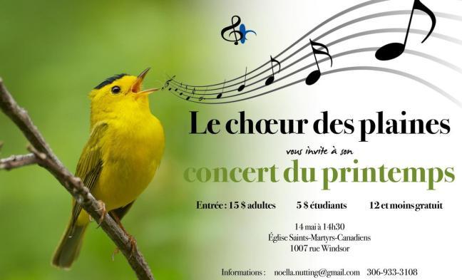 Affiche - Concert du printemps