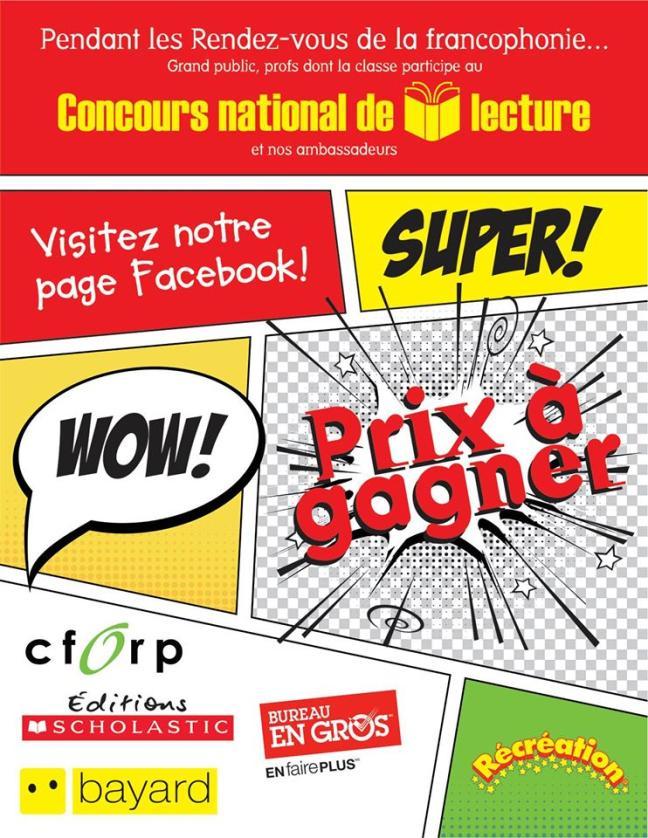 Affiche - Concours national de lecture