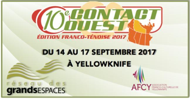 Affiche - Contact Ouest 2017 - Adjoint.e à la coordination recherché.e
