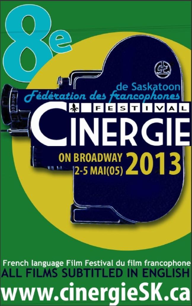 Affiche - festival Cinergie 2013