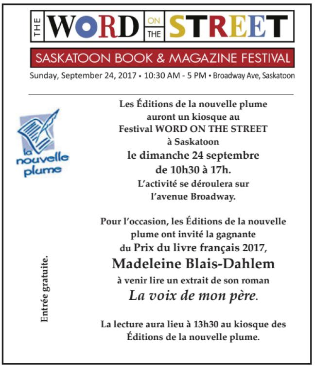 Affiche - Festival [i Word on the Street]