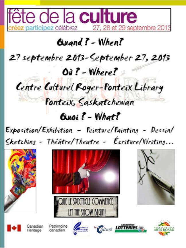Affiche - Fête de la Culture 2013