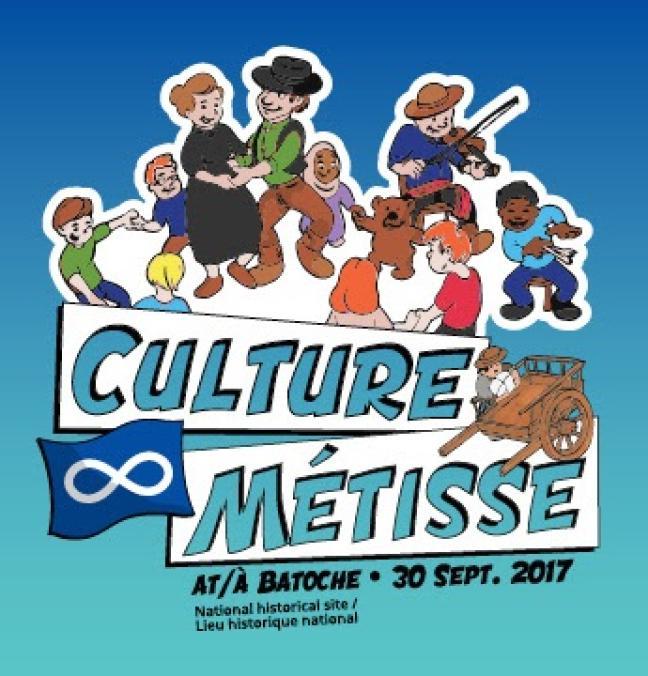 Affiche - Fêtons la culture métisse
