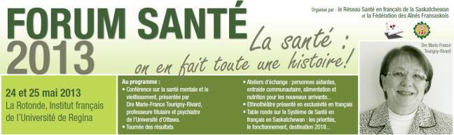 Affiche - Forum Santé 2013