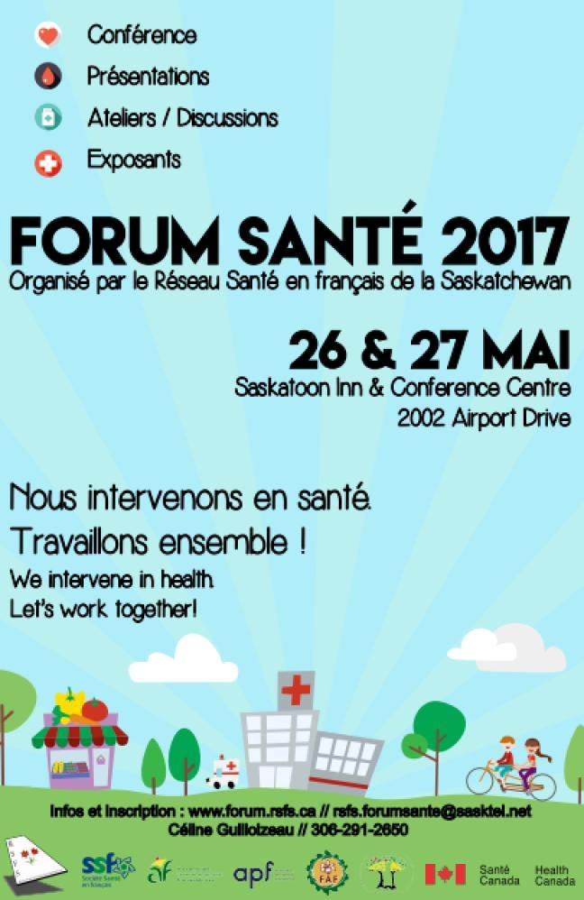 Affiche - Forum Santé 2017