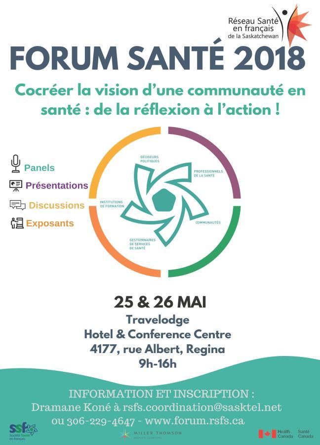 affiche - Forum Santé 2018
