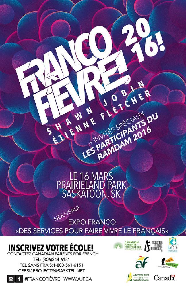 Affiche - Francofièvre 2016
