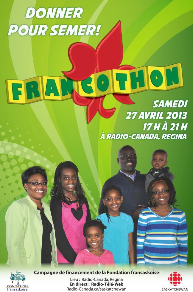 Affiche - francothon 2013