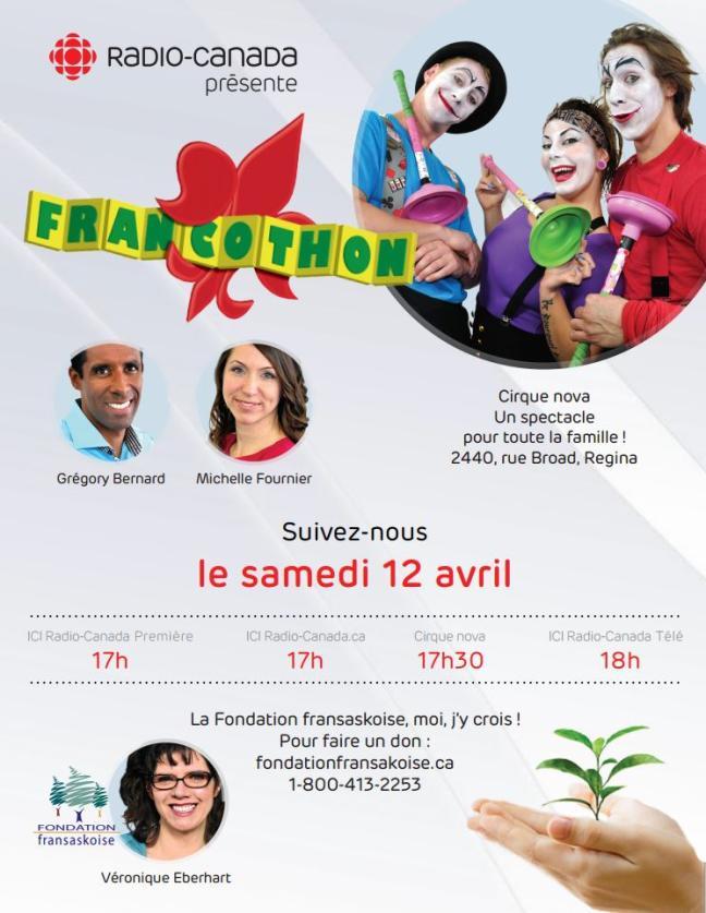 Affiche - Francothon 2014