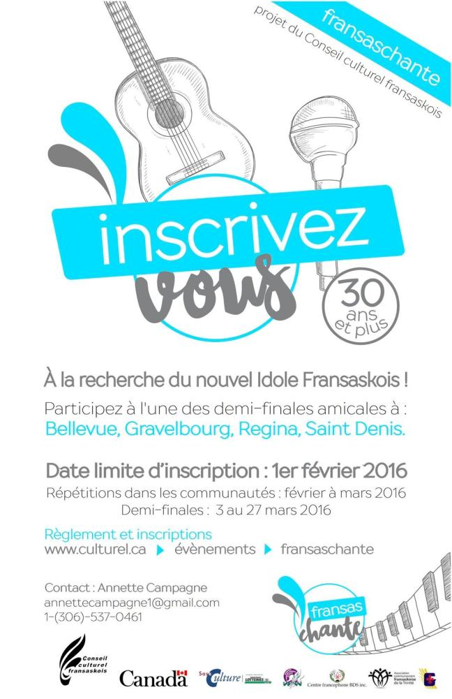 Affiche - Fransaschante 2016