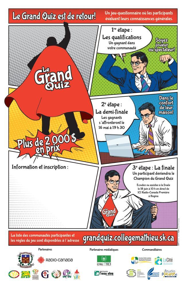 Affiche - Grand Quiz