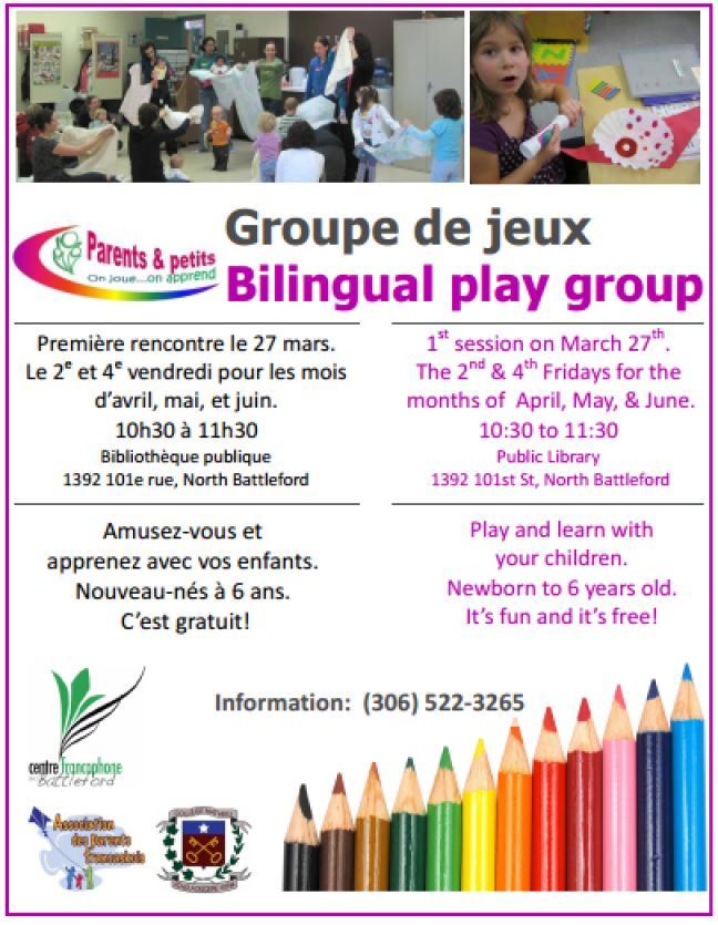 Affiche - Groupe de jeux Parents et Petits