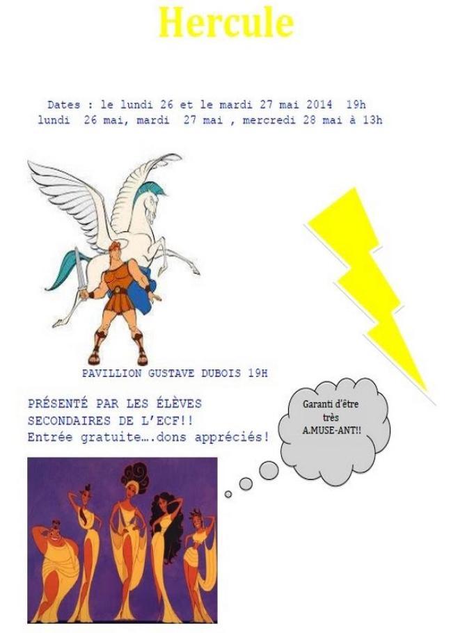 Affiche - Hercule