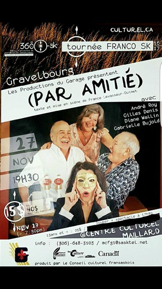 Affiche - [i Par Amitié] à Gravelbourg