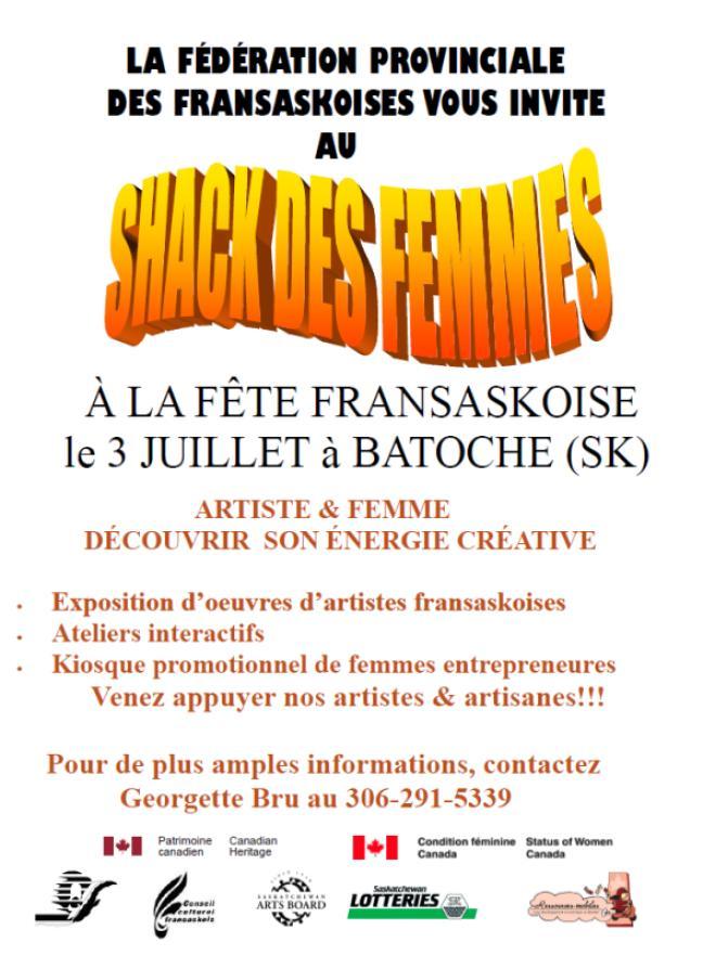 Affiche - Le shack des femmes