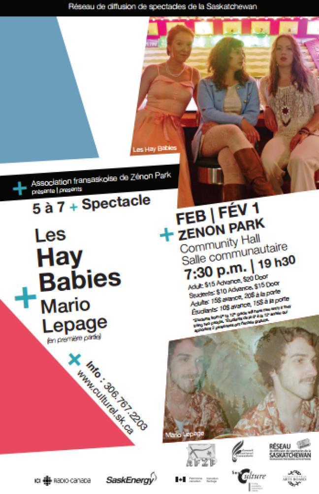 Affiche - Les Hay Babies à Zénon Park