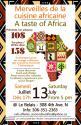 Affiche - Merveilles de la cuisine africaine