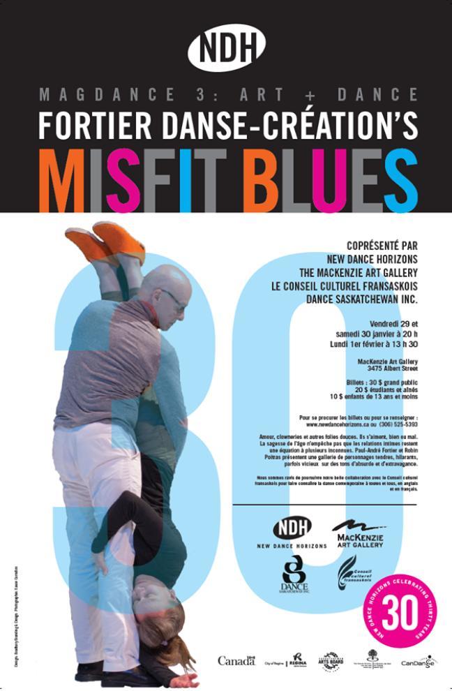 Affiche Misfit Blues
