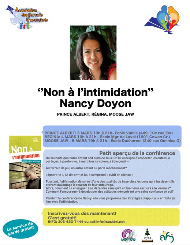 Affiche - Non à l'intimidation