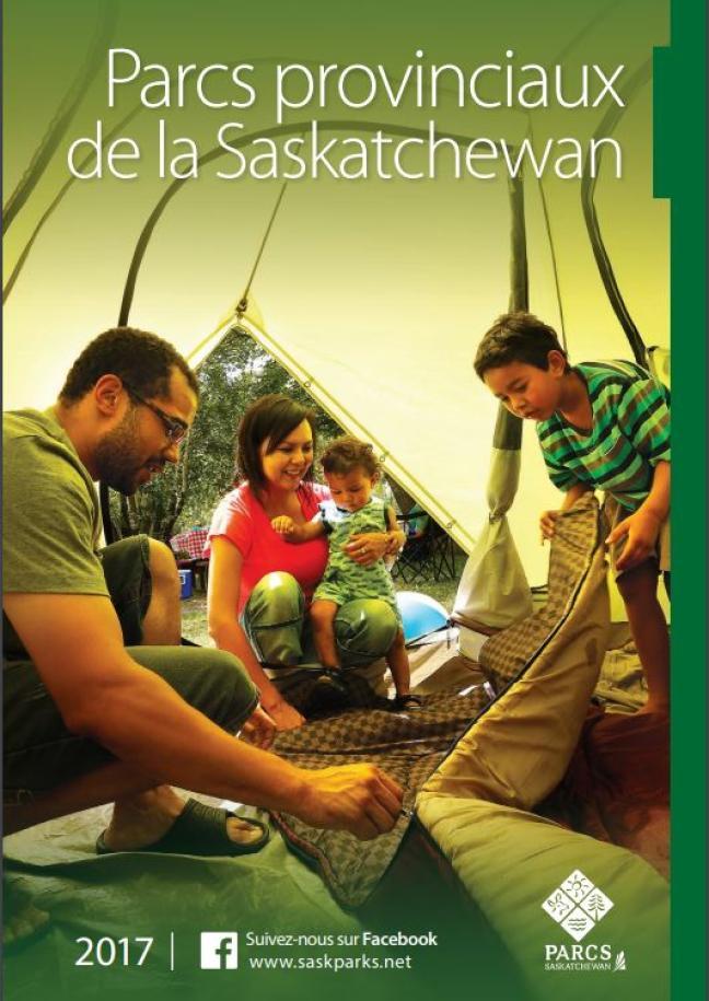 Affiche - Ouverture des parcs provinciaux de la Saskatchewan