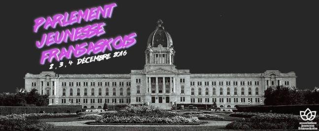 Affiche - Parlement jeunesse fransaskois