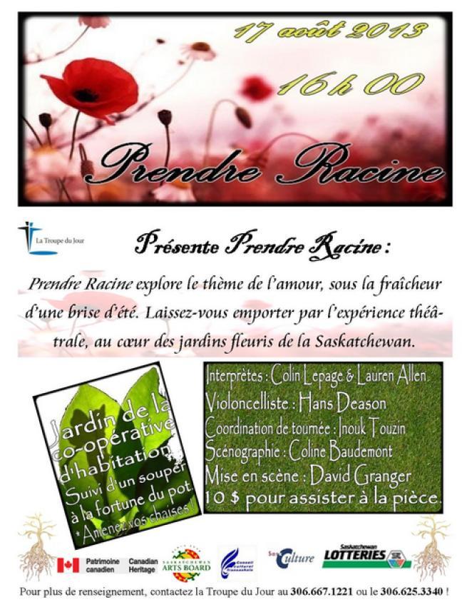 Affiche - Prendre Racine à Ponteix