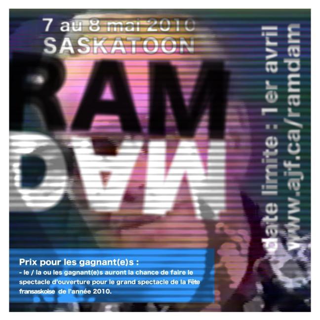 Affiche - RAMDAM 2010