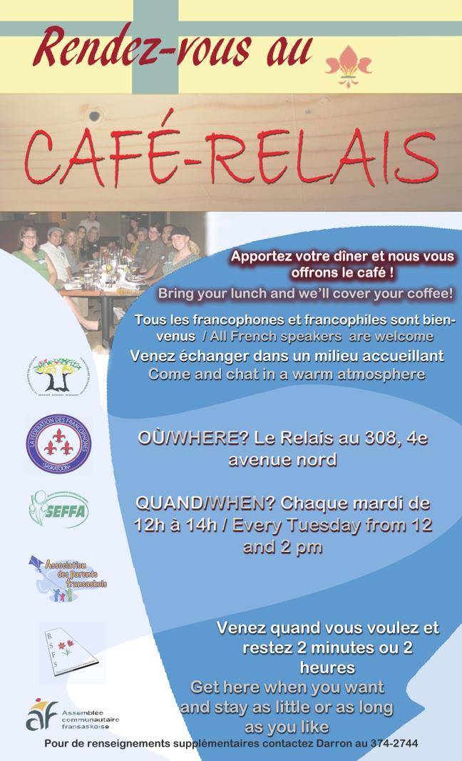 Affiche - Rendez-vous au Café-Relais