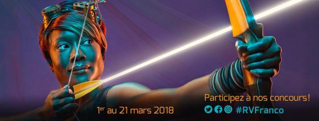 Affiche - Rendez-vous de la francophonie 2018