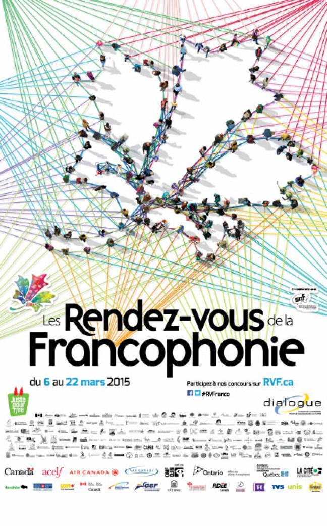 Affiche - Rendez-vous de la Francophonie (RVF) 2015