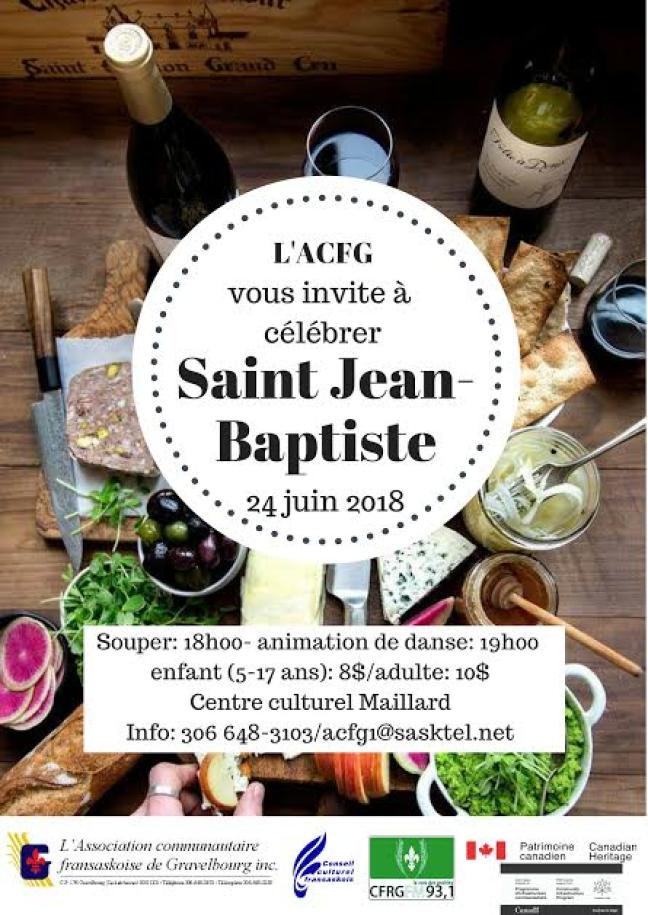 Affiche - Saint Jean-Baptiste à Gravelbourg