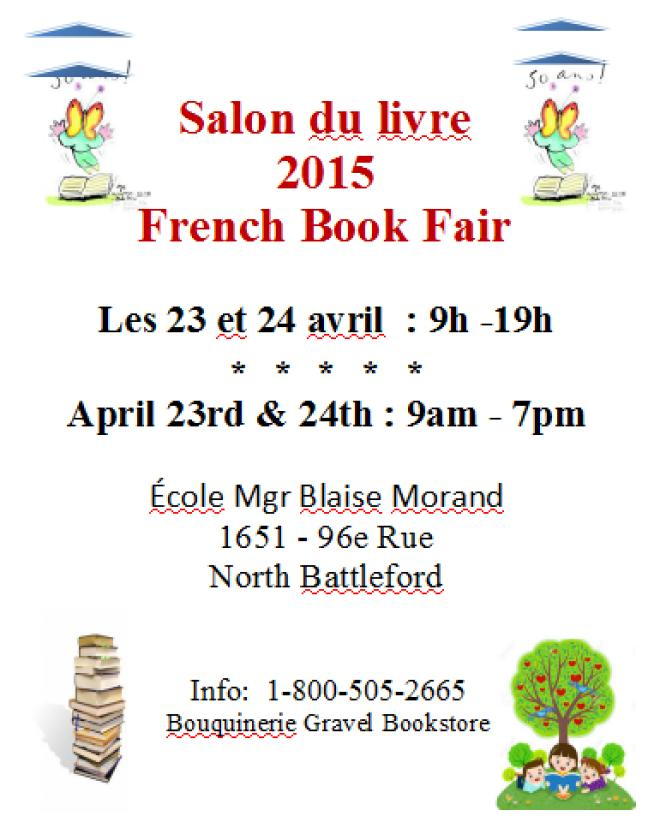 Affiche - Salon du livre à North Battleford 2