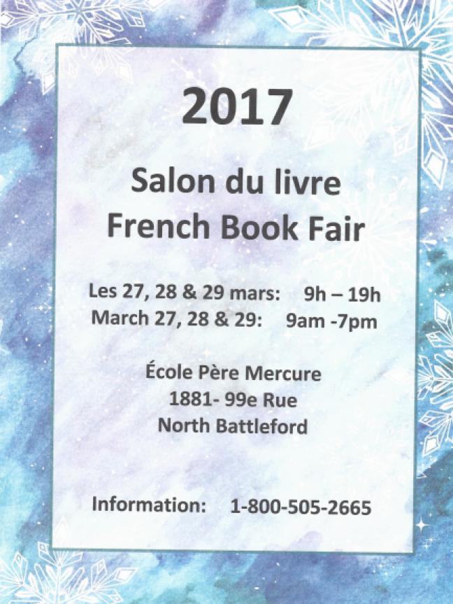 Affiche - Salon du livre à North Battleford