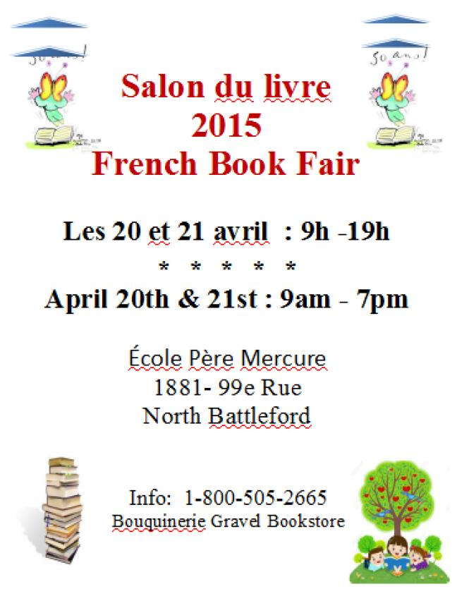 Affiche - Salon du livre à North Battleford