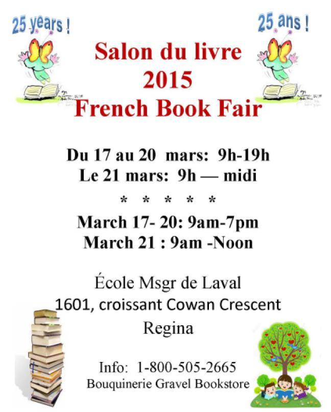 Affiche - Salon du livre à Regina