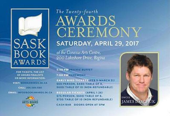 Affiche - Saskatchewan Book Awards
