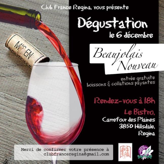 Affiche - Soirée Beaujolais Nouveau