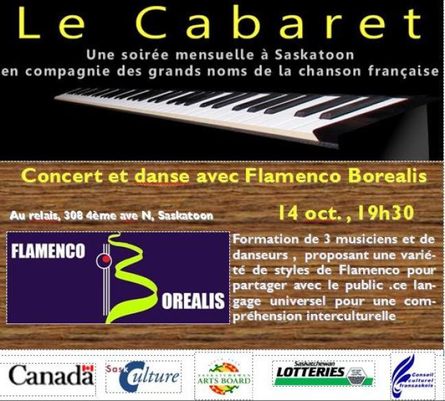 Affiche - Soirée Cabaret à Saskatoon