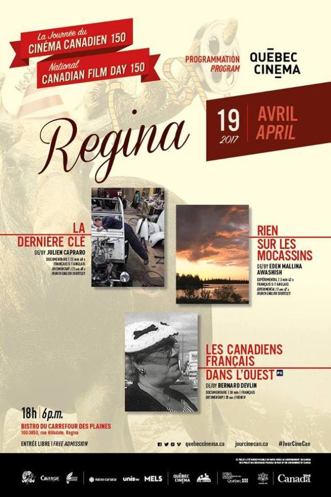 Affiche - Soirée cinéma: Journée du Cinéma canadien 150